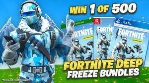 How to get Fortnite Deep Freeze Bundle Redeem Code - Quora