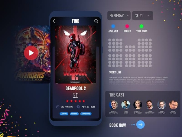 How To Develop A Movie Ticket Or An Event Ticket Booking App Like Bookmyshow Quora