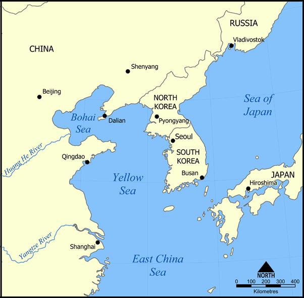 What are the Yellow Sea's geopolitics? - Quora