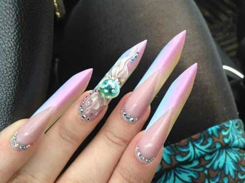 The Same Goes For Obele Nails This Shape Has To Be Built And Can Not Achieved By Just Growing Your Like Ones From Picture In Dawns Post