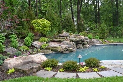 What are some interesting concepts for designing swimming for Pool design concepts
