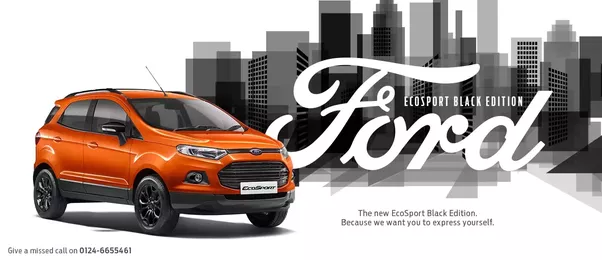Build Quality I Mean Literally First You Sit Inside The Brezza And Then In The Ecosport The Build Quality Of Ford Will Simply Wow You