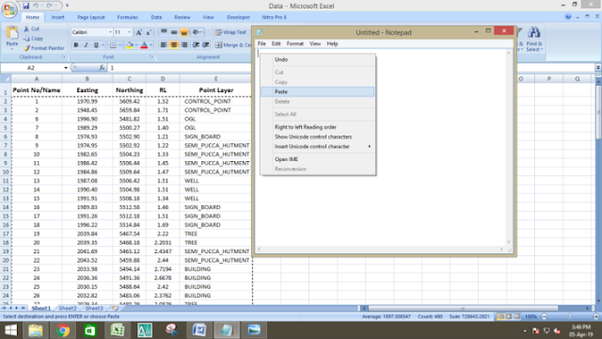How to import coordinates from Excel to AutoCAD - Quora