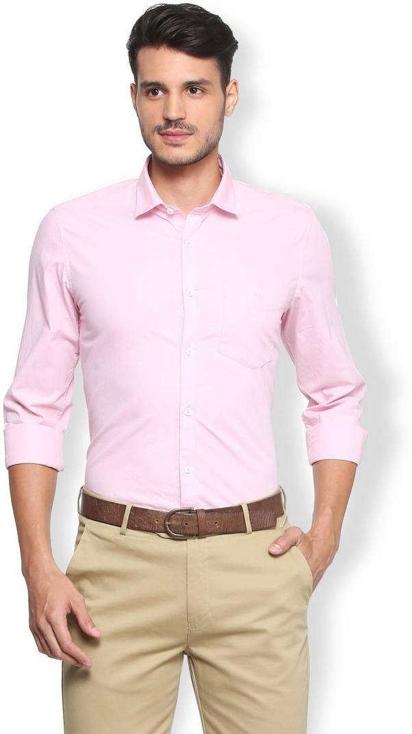 21d263bed2 What color shirt goes well with khaki pants  - Quora