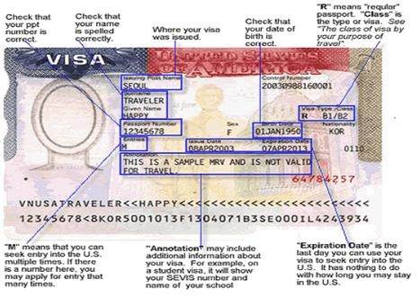 how to find my visa number
