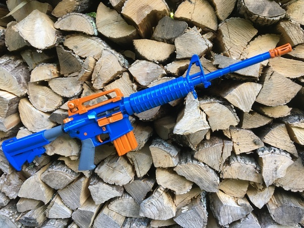 Picture of How to Custom Paint a Nerf Maverick