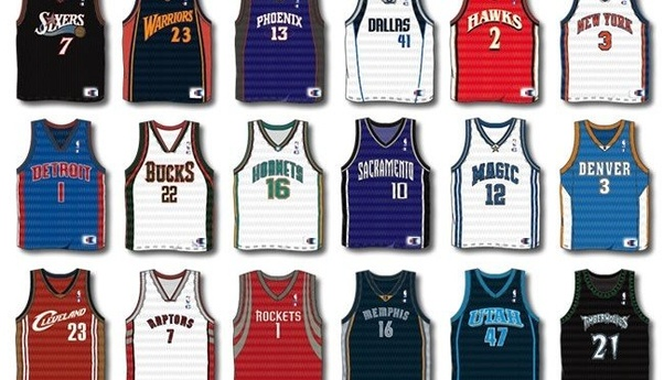 What font is used on NBA players' shirt numbers in 2015? - Quora