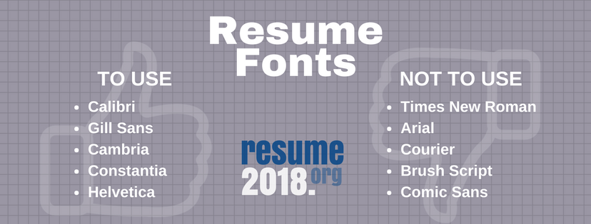 Which Is The Font Used By Most Iitians In Their Resumes Quora