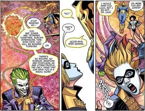 Batman (creative franchise): Why does Harley Quinn love The Joker