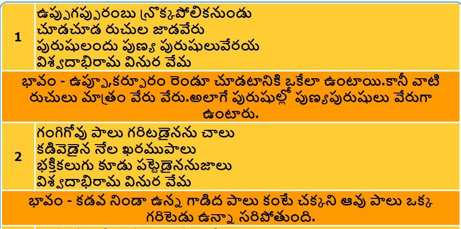 What is Telugu Satakam? - Quora
