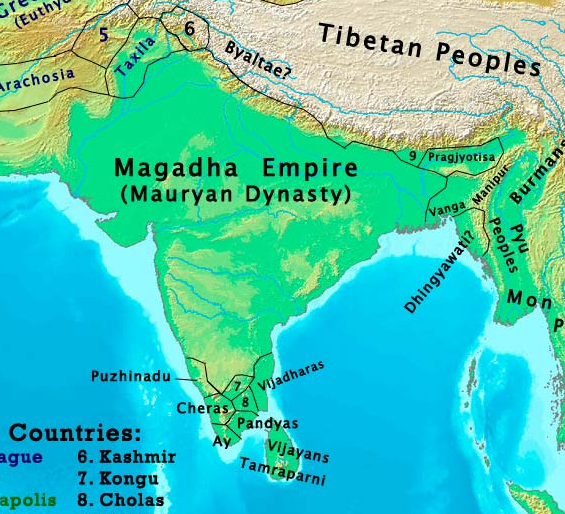 How did the map of india change from 1 ad to the 21st century quora how did the map of india change from 1 ad to the 21st century gumiabroncs Image collections