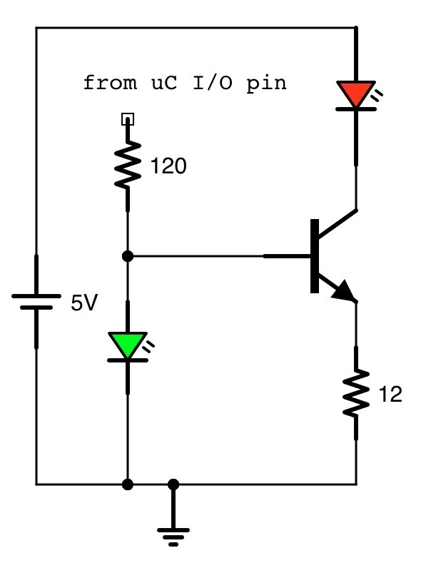 should i switch ir leds with transistors quora rh quora com Transistor Capacitor LED Circuit Transistor LED PIR Circuit
