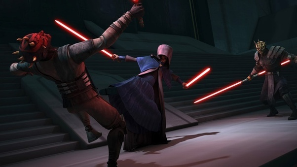 The End Result Was Two Wannabe Sith Getting In Way Over Their Heads And Having Butts Handed To Them By Darth Sidious
