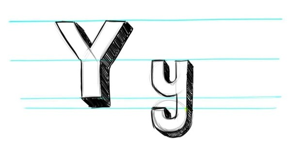 How to draw a 3d letter y quora