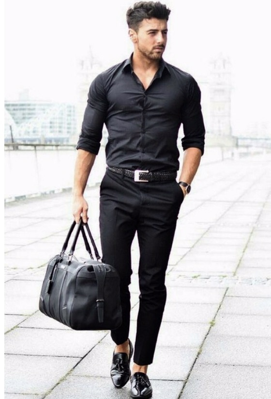 58a3e73285 But the all-black look is not always your go-to attire when you re dashing  out of the house. To clinch a formal combination
