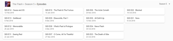 Where can I get The Flash season 5 free watch or download in