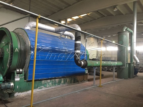 What is recycling waste tyre to oil pyrolysis plant? - Quora