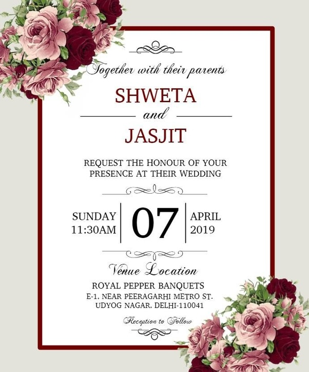 Email Wedding Invitation: Which Is The Best Site To Design An Online Wedding