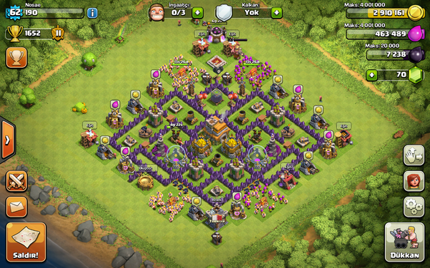 What are some best town hall 7 hybrid bases (Clash of Clans)? - Quora