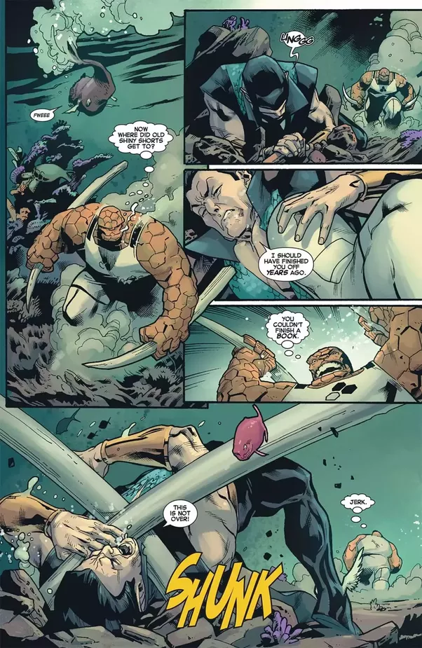 Who would win a fight between Juggernaut and Namor? - Quora