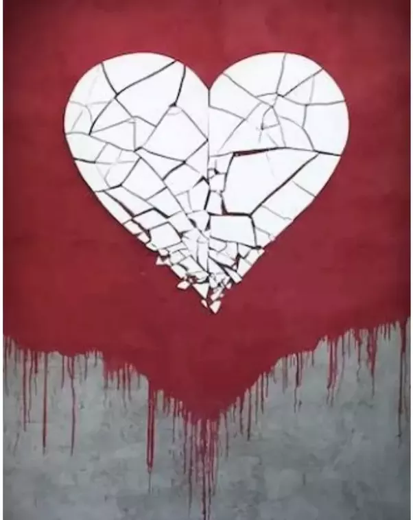 Ouchh!!!… something is piercing me in between my chest…..ohh its my broken  pieces of HEART!!