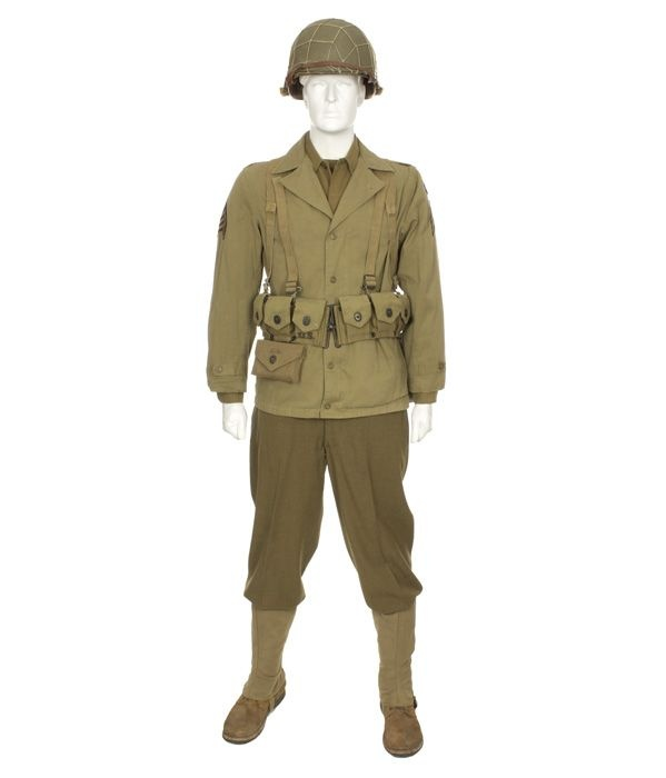 What did the US Army star look like during WW2 that soldiers