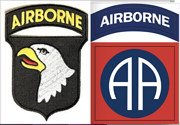 what s the difference between the 101st and the 82nd airborne and