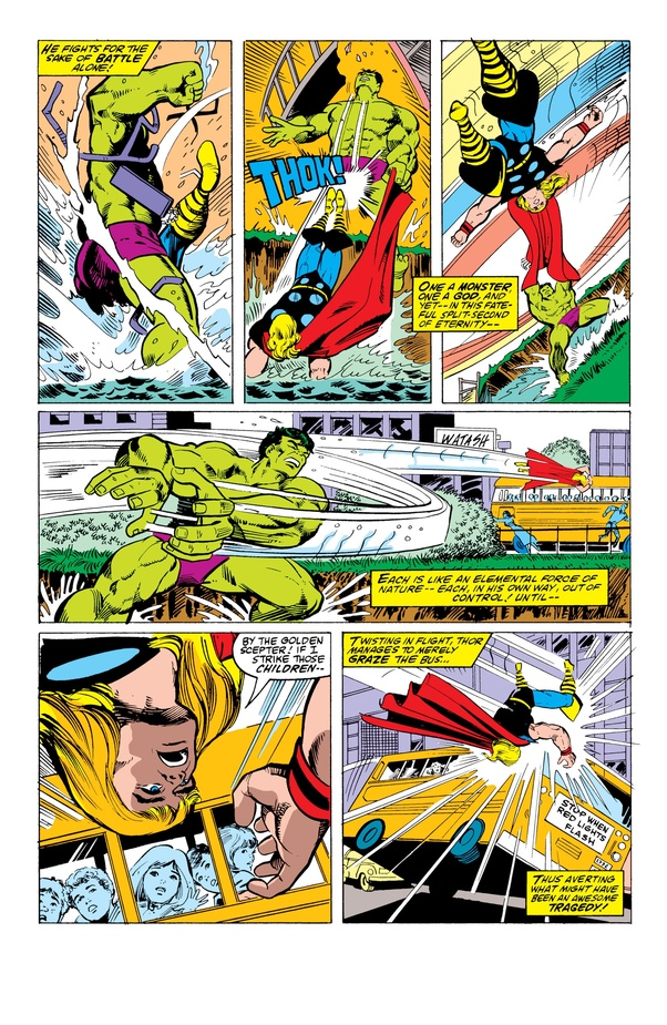In a fight between Thor and The Incredible Hulk, who would