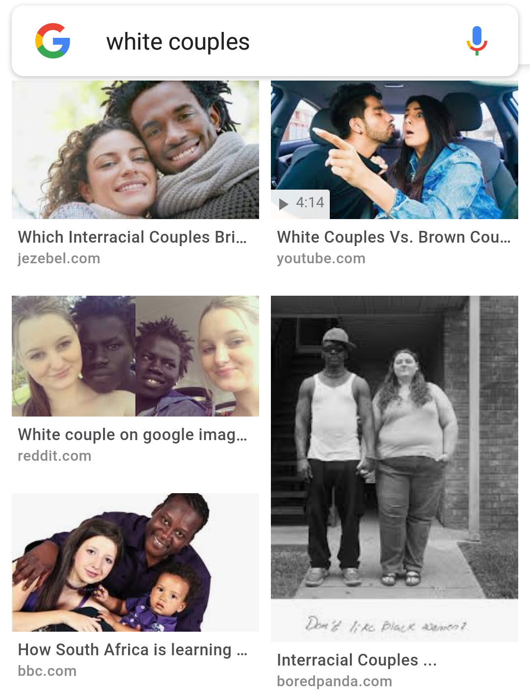 interracial dating social experiment