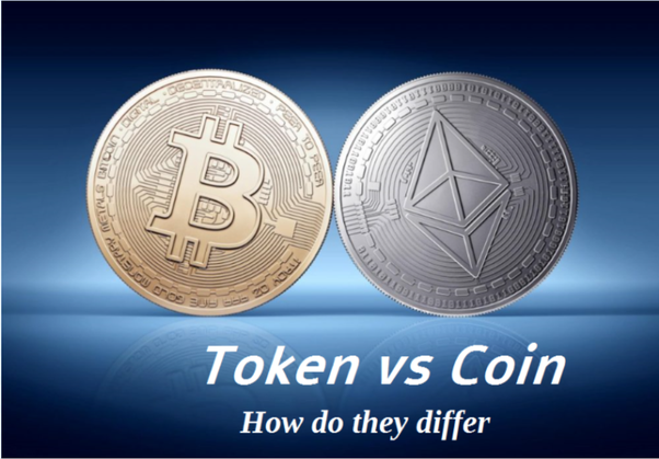 cryptocurrency coins and tokens