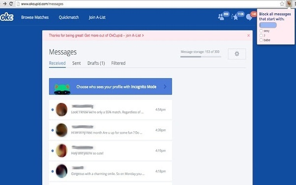 Okcupid com messages