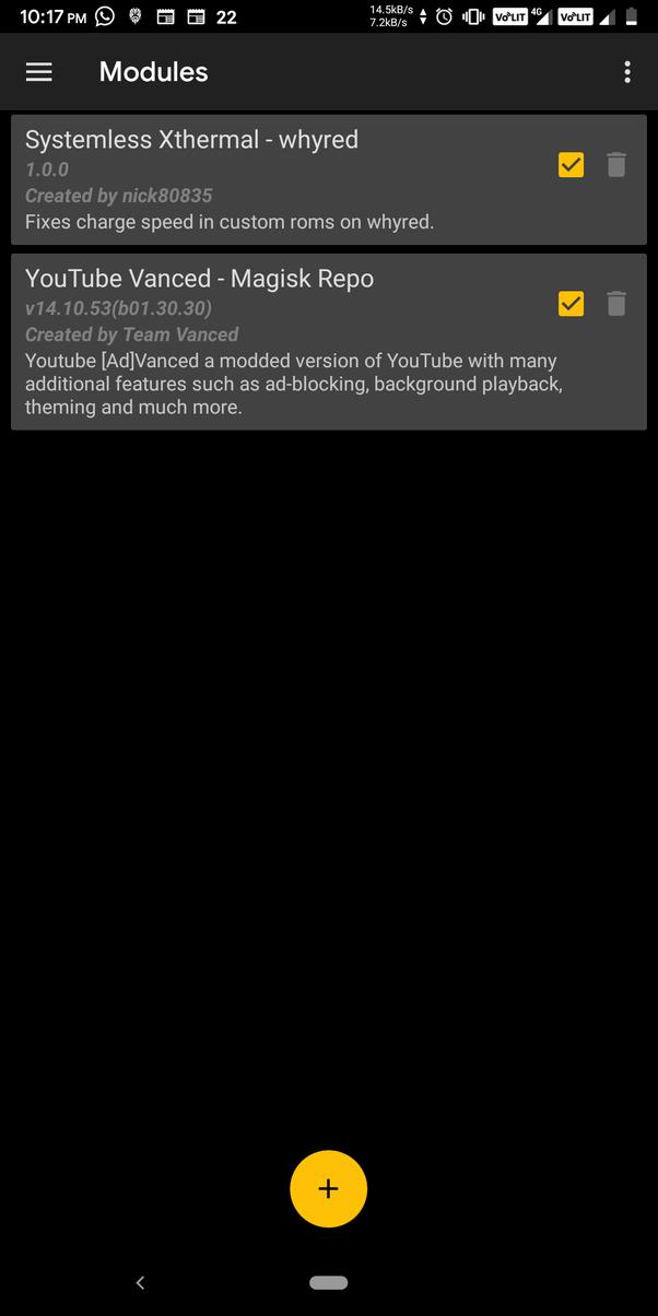 Vanced Youtube
