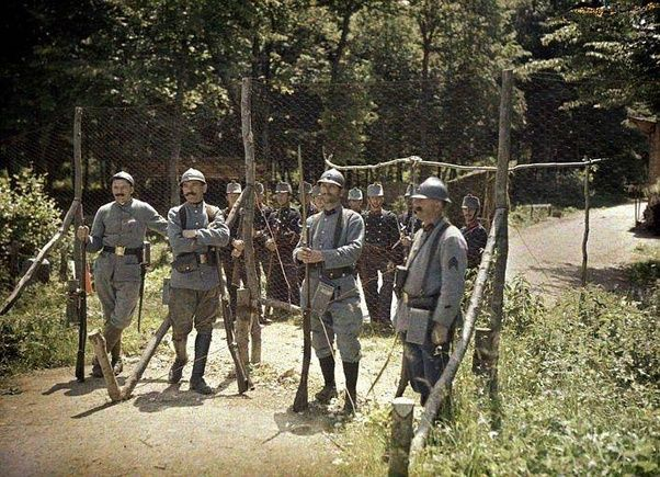 World War I What Did The Western Front Look Like On The