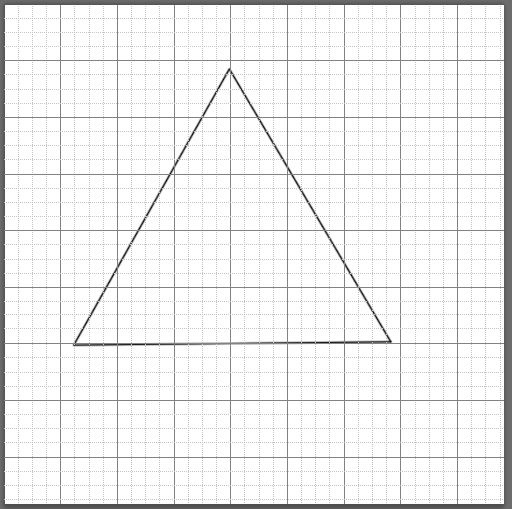 How To Make An Equilateral Triangle Shape In Photoshop Quora
