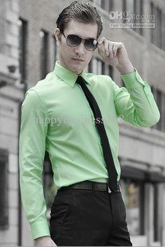 Will a green shirt go with black pants quora for Shirt and pants color combinations