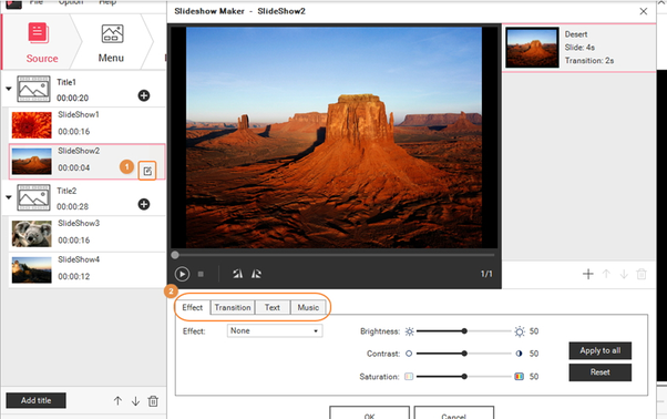 What's the best free software for making photo slideshows that