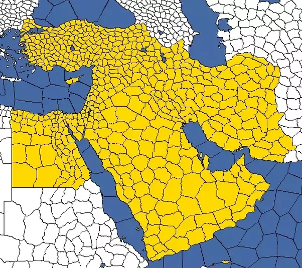 How would you have drawn borders in the Middle East, with the goal ...