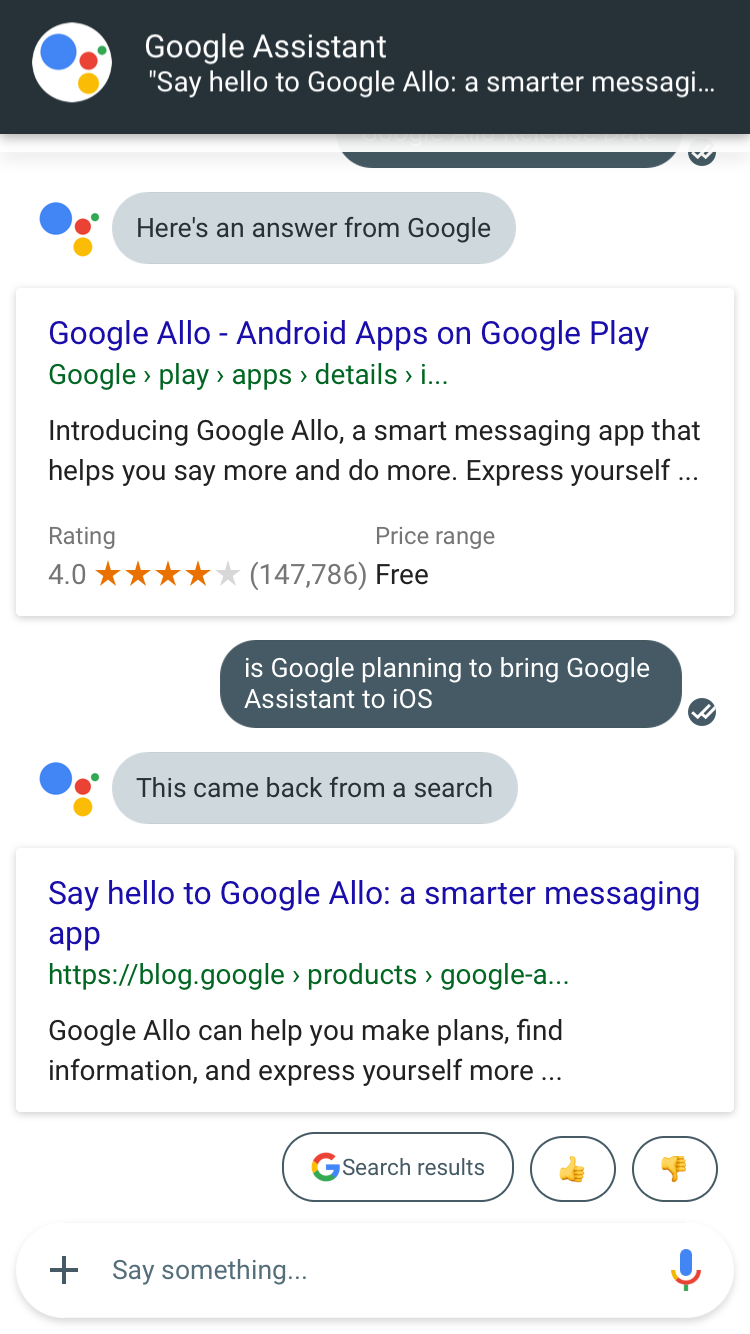 Is Google planning to bring Google Assistant to iOS? - Quora