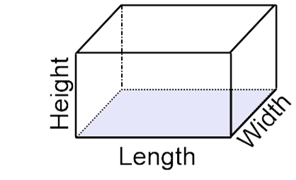 What Is The Length Of A Rectangular Prism How Is This Determined Quora