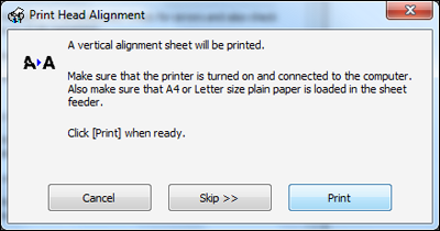 Is it possible to fix print head alignment on my Epson