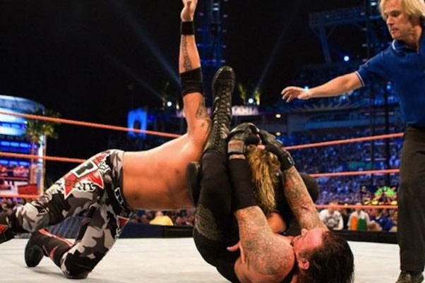 Which WWE wrestler's submission move has the most effective