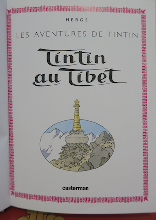 What is the plot of Tintin in Tibet by Georges Remi Herge