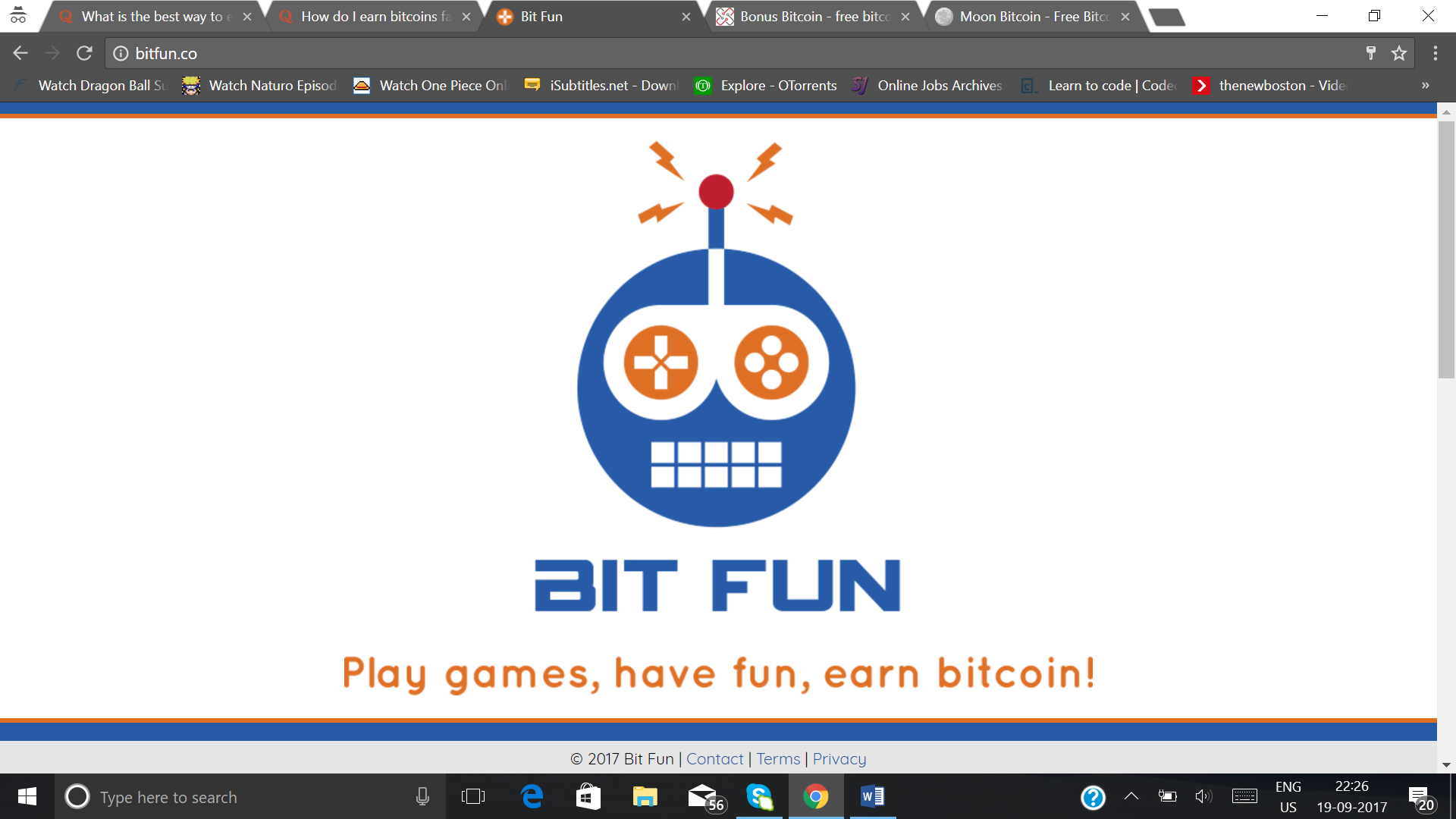 How to earn Bitcoins and add them to my bank, or use it online to