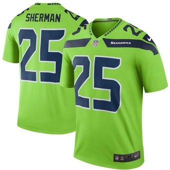 And this is blown up when talking about the old and new neon green jerseys  they wear 7b62d046a