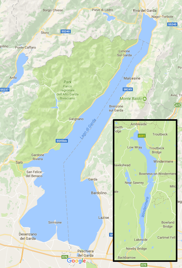 Is Lake Garda In Italy Wider Deeper And Longer Than Lake - Clear map of italy