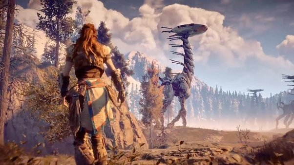 What are some of the best open world rpgs console and pc its open world but also has a campaign but bro in what other game do you go around the map shooting fricken robot animals with a fuckin now and arrow gumiabroncs Choice Image