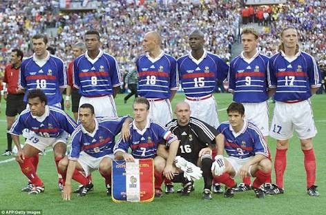 31feaa83e I will pick 3 European national football team jerseys and 1 one African  team.