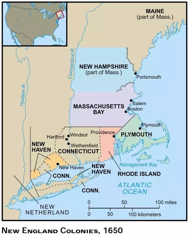 new england vs the colonies Free essay: during the late 16th century and into the 17th century, two colonies  emerged from england in the new world the two colonies.