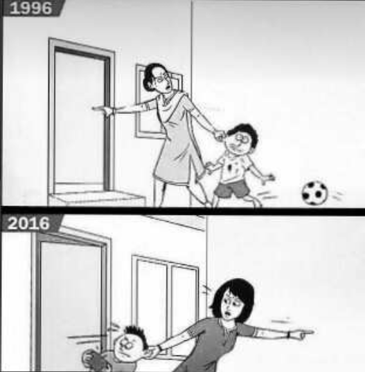 difference between old generation and new generation