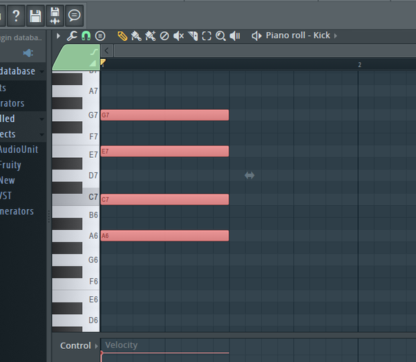 Where Is The Chord Option In The Piano Roll Of Fl Studio 121 Quora